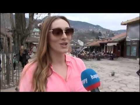 Anabela - Intervju u Sarajevu - Glamur - (TV Happy 25.05.2015)