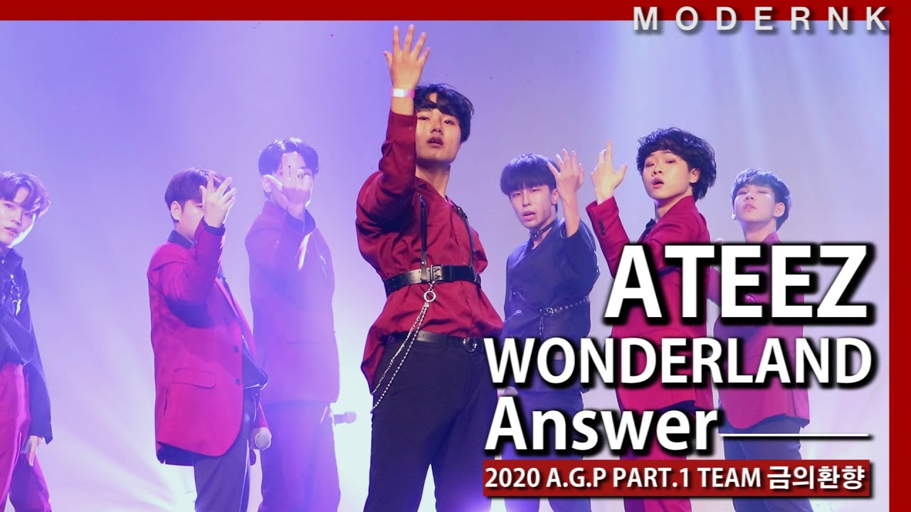[2020 A.G.P PART.1] WONDERLAND + Answer - ATEEZ|TEAM 금의환향