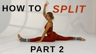 10 MIN. HOW TΟ SPLIT /Part 2 for beginners & advanced / STRETCHING ROUTINE | Mary Braun
