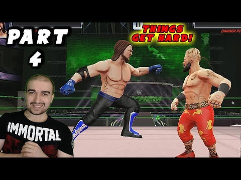WWE Mayhem Walkthrough - #4 -  THINGS GET HARD! - (Android Gameplay Let's Play)