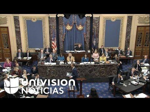 Así fue el cierre de argumentos de los administradores demócratas en el juicio político a Trump