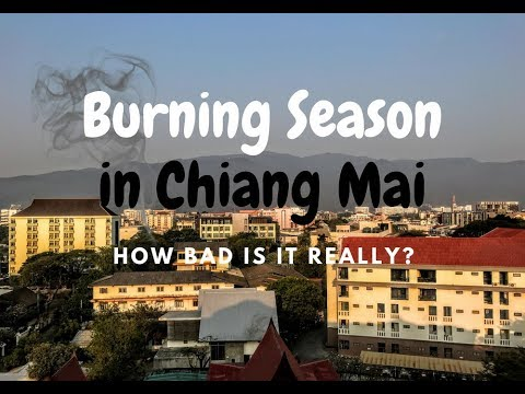 Burning Season in Chiang Mai - When Is it, How Bad is it Really?