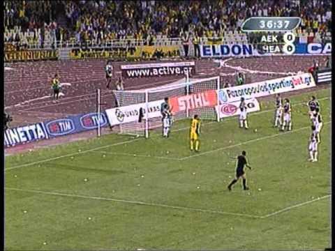 A.E.K Athens - Hearts FC 3 - 0 (2006 - 07)