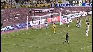A.E.K Athens - Hearts FC 3 - 0 (2006 - 07) thumbnail