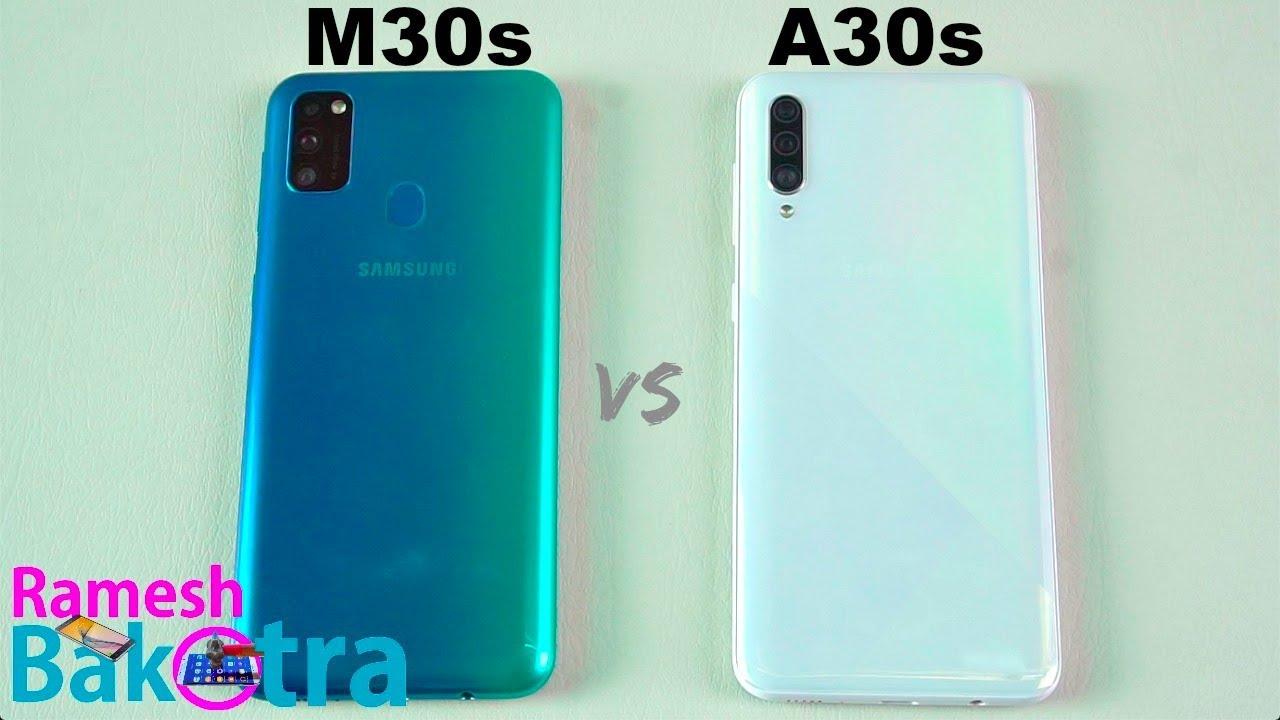 Samsung Galaxy M30s vs Galaxy A30s SpeedTest and Camera Comparison