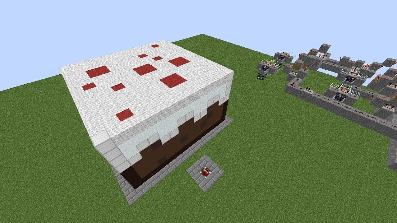 riesiger essbarer kuchen in minecraft download german hd - Minecraft Kuche Bauen