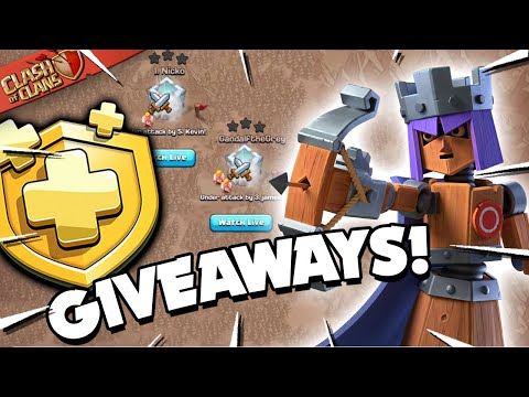New Hero Skin & Gold Pass Giveaways (Clash Of Clans)