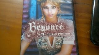 Unboxing: Beyonce The Ultimate Performer DVD