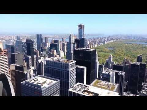 Top of the Rock Observation Deck, Rockefeller Center, New York