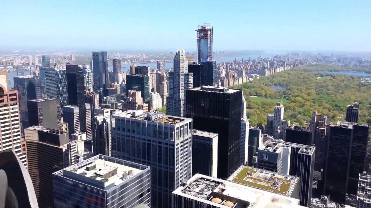 Top Of The Rock Observation Deck Rockefeller Center New York Youtube