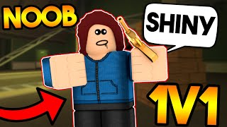 I 1v1'd The Biggest Arsenal Noob In Competitive! Roblox