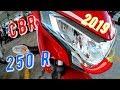 La nueva honda CBR 250 R  2019