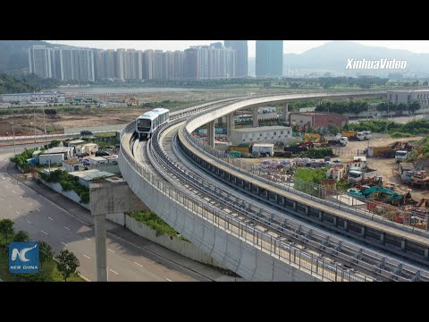 Macao's first light train route starts operation