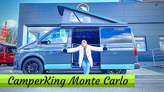 The FULLY CUSTOMISABLE VW CAMPER VAN Under £55k! - CamperKing Monte Carlo TOUR