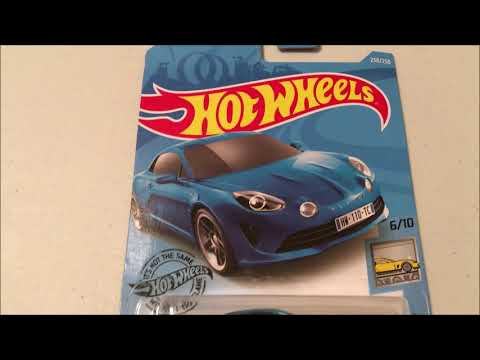Hot Wheels 2019 Alpine A110 Review | A Very Quirky Car
