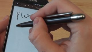 Samsung Galaxy S4 C-Pen Stylus Review