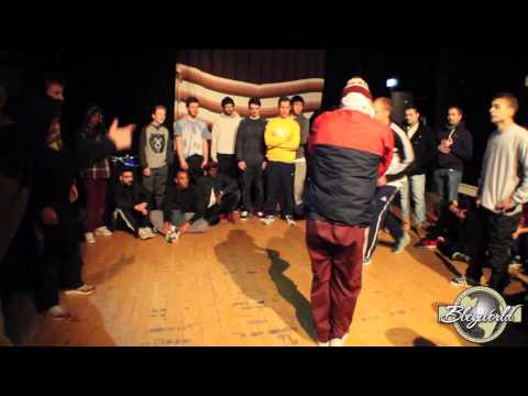 Torb & Grym vs Intact & Pluto // .BBoy World // EXHIBITION | THE GATHERING 2014
