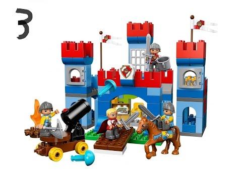 Jak Zbudować Zamek Z Klocków Lego Duplo Kontuacja Youtube
