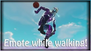 *FUNNY* Fortnite 🤡 Emote While *WALKING* + While *GLIDING* - On Xbox, PS4, PC 🤡 Latest Patch