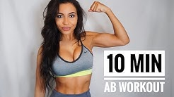 INTENSE AB WORKOUT | No Equipment | Chanel Coco Brown