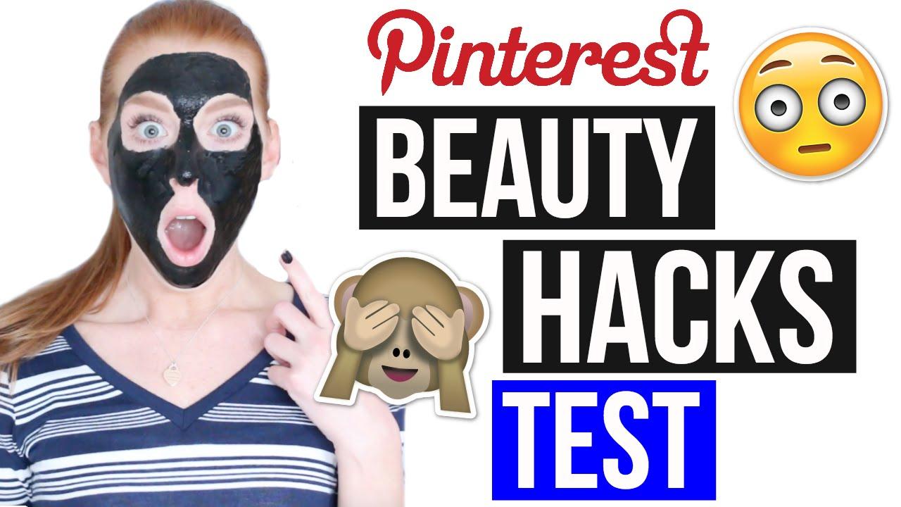 5 pinterest beauty hacks getestet nie wieder mitesser maske laurencocoxo youtube. Black Bedroom Furniture Sets. Home Design Ideas