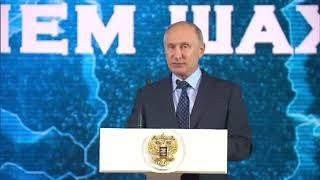 Путин на Банкете посвящённый Дню шахтёра