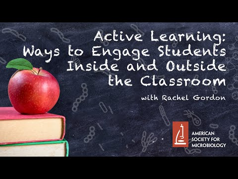 Active Learning: Ways to Engage Students Inside and Outside the Classroom