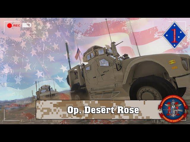 ARMA 3 | Op. Desert Rose| 11ThMEU (SOC) | Español