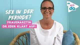 Frauenärztin Dr. Eder erklärt: Sex während der Periode   o.b.® Let's do screenshot 1