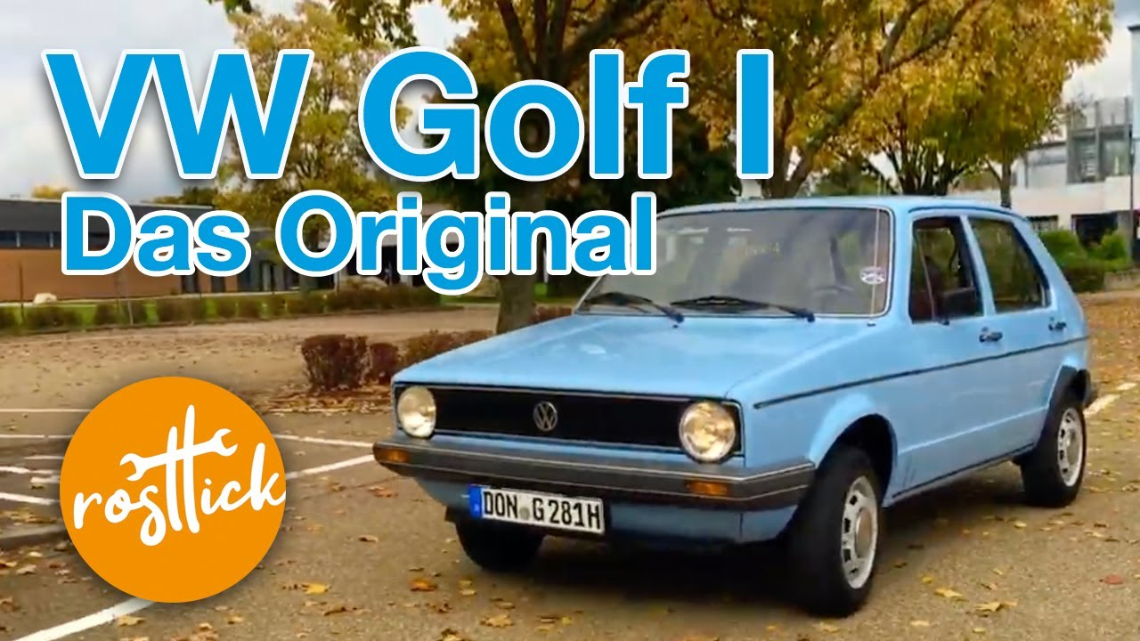 vw golf 1 das original 1981 youtube