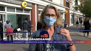 Yvelines | Sandrine Grandgambe, candidate Génération.S/EELV dans la 11ème circonscription