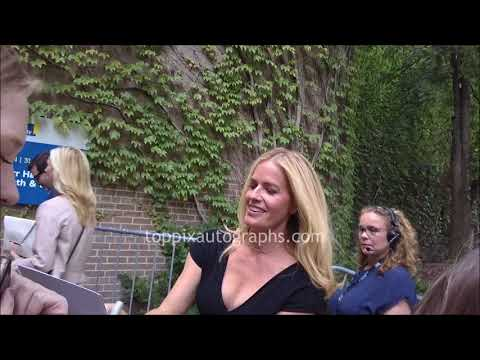 Elisabeth Shue - SIGNING AUTOGRAPHS while promoting at the 2017 TIFF