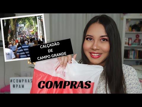 COMPRINHAS E LOJAS DO CALÇADÃO DE CAMPO GRANDE
