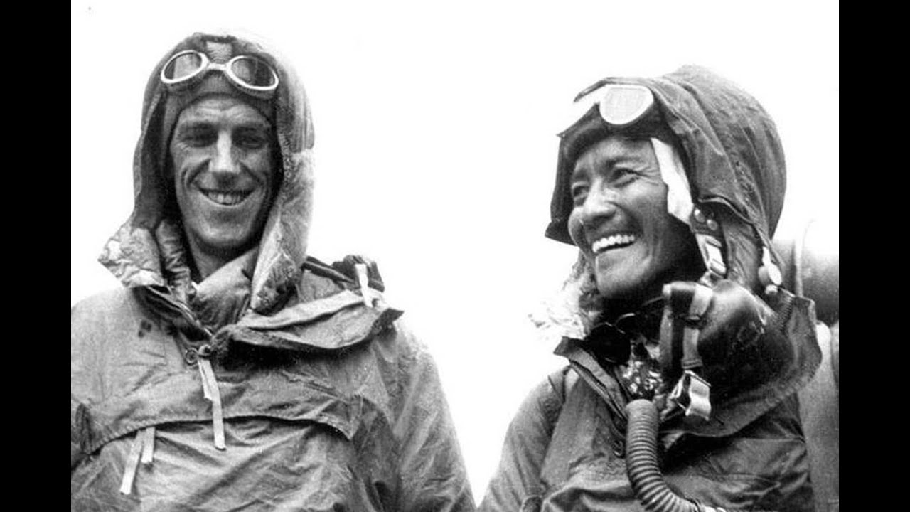 Image result for Edmund Hillary and Tenzing Norgay