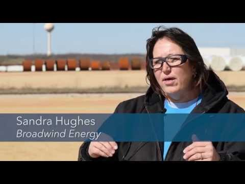 Wind energy bringing well-paying jobs to Texas