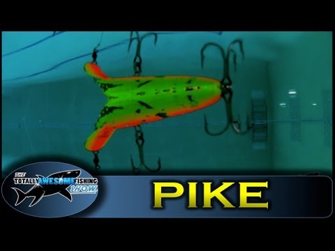 Pike fishing lures (Part 2 - Underwater)
