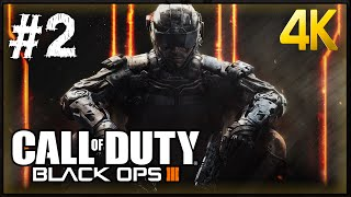 Call of Duty Black Ops 3 Walkthrough Part 2 PC 4K 60fps Gameplay 2160p