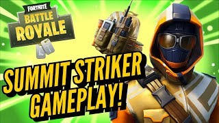 *NEW* SUMMIT STRIKER Starter Pack Gameplay! In Fortnite Battle Royale