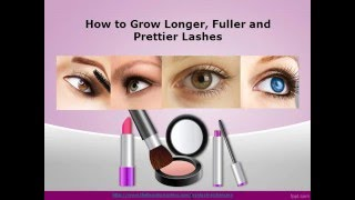 How to Grow Your Eyelashes Thicker and Longer Easily Thumbnail