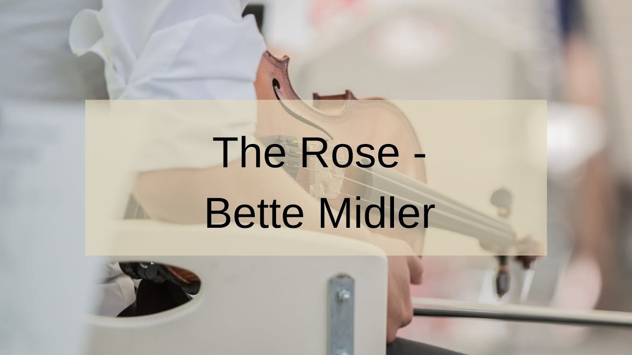 The Rose   Bette Midler   Duo