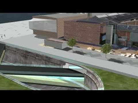 Visualisation of the new Danish Maritime Museum
