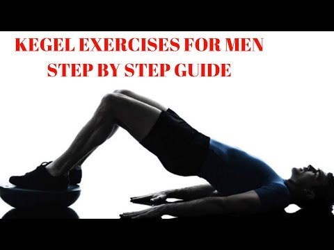 Kegel Exercises For Men Step By Step Guide