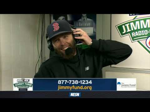 WEEI/NESN Jimmy Fund Radio-Telethon: Dustin Pedroia