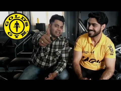 BK VLOGS  gold's gym review and about fee & training  facilities
