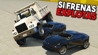 SI FRENAS EXPLOTAS! POR ABAJO!! - GTA 5 ONLINE - GTA V ONLINE