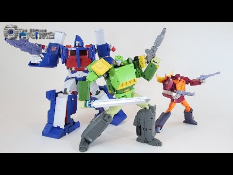Open and Play Big Spring - Masterpiece Springer - Review and Instructions