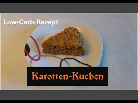 Karotten Kuchen [Low-Carb-Rezept]