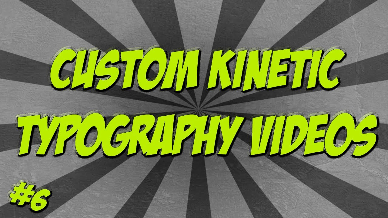 Kinetic Text Animation - Get More Audience with Catchy Ads ...