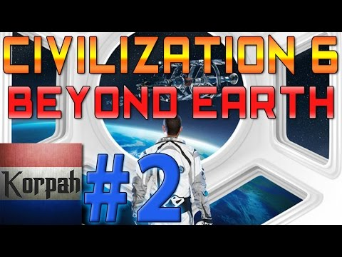 Civilization 6: Beyond Earth Playing on the Hardest Difficulty -1 | #2 | Explore & Expand