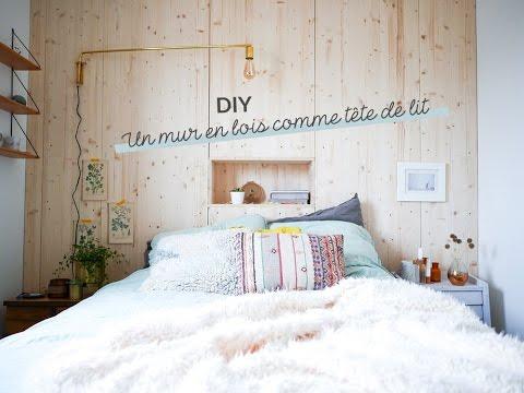 Diy Un Mur En Bois Comme Tête De Lit Avec Lili In Wonderland Et Leroy Merlin